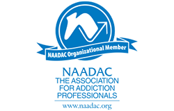 Organizational Member of NAADAC, the Association for Addiction Professionals